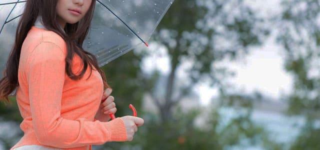梅雨のこの時期は中々神待ち出会いが見つからない